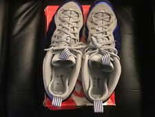 nike foamposite royal/gray size 14 worn once