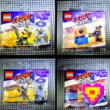 LEGO Movie 2 Polybag Two Lucy MetalBeard Emmet Master 30527 30528 30529 30340