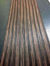 Ebano impiallacciato boliviano, Impiallacciatura Foglio, 2500mm x 310mm-vero legno