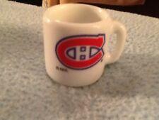NHL MONTREAL CANADIENS  MINI MUG  GREAT CONDITION
