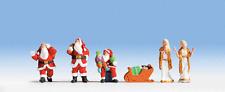NOCH HO SCALE 1/87 CHRISTMAS FIGURE SET | BN | 15920