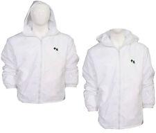 Mens Women New Bowls Bowling White Fleece Lined Waterproof Top Hoodie Jacket