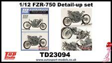 1/12 Yamaha FZR-750 detailing set by Top Studio to suit Fujimi kits.