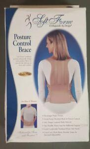 FLA Soft Form Posture Control Brace Back Support