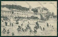 Savona Celle Ligure cartolina QK5141