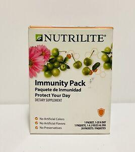 Amway Nutrilite Immunity Pack, Vitamin C, Triple Guard Echinacea - 20 packets