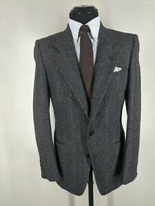 Mani by Giorgio Armani Vintage Sport Coat 2 Button  No Vents  US Size 36 Reg