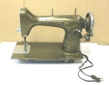 Vintage New Home Light Running Sewing Machine Antique TESTED 1940s WORKING