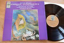 BERLIOZ Symphonie Fantastique CHARLES MUNCH LP EMI C063-10595