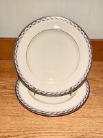 """Set of 2 Lenox Harrison 10 1/2"""" Dinner Plates"""