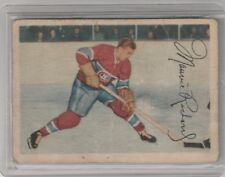 1953 54 Parkhurst Maurice The Rocket Richard Montreal Canadiens HOF VG-EX