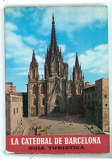 FABREGA ANGEL LA CATEDRAL DE BARCELONA GUIDA TURISTICA EGS 1968 VIAGGI SPAGNA