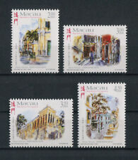 Portugal Macao Macau 1998 PAINTINGS FRAMES CITY STREETS complete set MNH, FVF