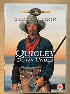 Quigley Down Under DVD 1990 Australian Western with Tom Selleck + Alan Rickman