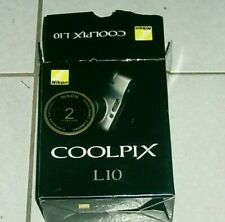 Nikon Coolpix L10 5.0Mp Digital Camera - Silver + all accessories