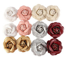 Dawn BIBBY-Lot de 12 en cuir synthétique 3D roses