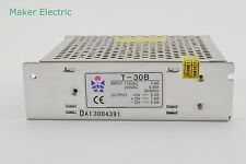 T-30B 30W DC5V DC12V DC-12V Triple Output Switching Power Supply Adapter