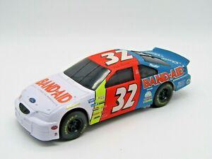 Dale Jarrett Nascar Band Aid Car #32 Coin Bank with Key