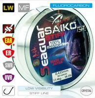 SEAGUAR SAIKO STIFF 100% FLUOROCARBON MADE IN JAPAN, fluoro peche 50M