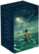 Percy Jackson and the Olympians Hardcover Boxed Set Percy Jackson & the