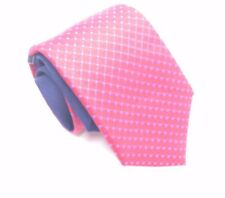 $125 TOMMY HILFIGER Men`s SILK RED BLUE POLKA DOT TIE CLASSIC NECKTIE 58X3.25