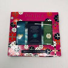 Pacifica Women's Deodorant Wipe Collection 100% Vegan + Cruelty Free NEW