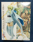 SHERYL NOME Figure - Macross Frontier DX PVC White Brownie UFO Banpresto Japan