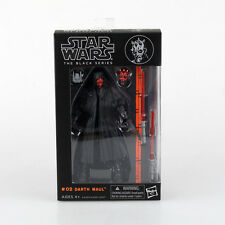 """Darth Maul:Star wars the Black Series 6""""Action Figure Xmas gift new in box"""