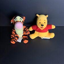 Disney Winnie the Pooh And Tigger Small Plush Lot