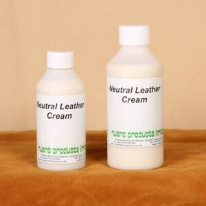 Leather Protection Cream and Cleaner with a nice Leather smell