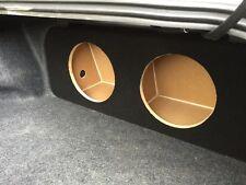 "ZEnclosures 2015+ Mustang 2-12"" Subwoofer Box Sub Speaker Box -black,V1,RearF"