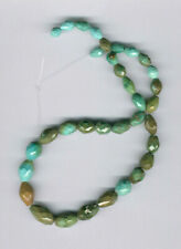 OLD STOCK, HUBEI CLOUD MOUNTAIN TURQUOISE NUGGET BEADS - 022D