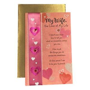 Valentine's Day Greeting Card for Wife - My Wife, the Love of My Life I don't ev
