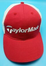 TAYLORMADE red / white adjustable cap / hat - r7