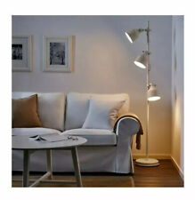 IKEA Hektar Floor Lamp With 3-Spotlights Beige with 3 separate switches NEW-