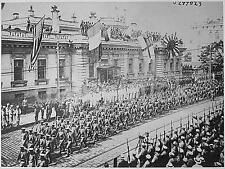 Vladivostok Russia Military Parade Soldiers World War 1 5x4 Inch Reprint Photo R