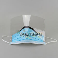 25pcs Dental Surgical Lab Disposable Ear Loop Face Mask With Shield Hygienist