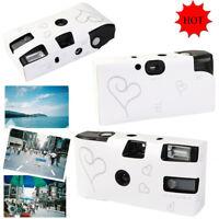 10/20 Disposable Camera Single Use 36 Photo film with Flash Wedding Bridal Favor