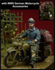 "D-Day, 35082,1:35, ""Herman Goering Division officier Moto rider + accessoires"