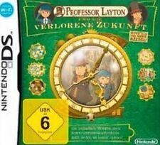 Nintendo DS 3DS Professor Layton und die verlorene Zukunft * Neuwertig
