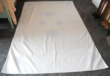 "Vogart Craft Vintage Tablecloth Stamped to be Embroidered 59x91"" Rose Motif"
