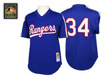 Nolan Ryan 1989 Texas Rangers Authentic Mesh BP Jersey by Mitchell & Ness L 44