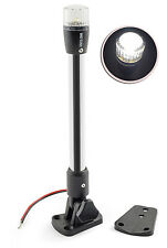 Pactrade Marine Boat Pontoon Fold LED Navigation Stern Anchor Pole Light 10.5''