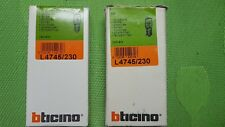STOCK 20 LAMPADINE BTICINO LIVING light 230V COD.L4745/230 NUOVO