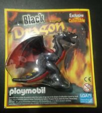 PLAYMOBIL DRAGON NEGRO EN BLISTER REVISTA PLAYMOBIL