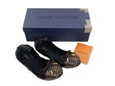 LOUIS VUITTON FLIRTY BALLERINA SHOES LADIES LV SIZE 40 BOXED
