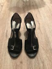 Sandalen mit Keilabsatz von Michael Kors in Schwarz Größe 40,5