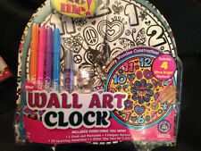 It's So Me! Wall Art Clock Kit! Great Project for Kids! Complete Kit! New!