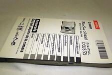 Canon SD 450 Digital IXUS 55 Espanol Guia del usuario de la camera