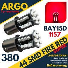 Bay15d 380 Tail Light Bulbs Red Led Car Brake Stop Bulbs Fog Light Bright 44 Smd